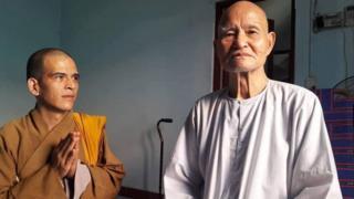 Hòa thượng Thích Quảng Độ (phái) và đại đức Thích Ngộ Chánh
