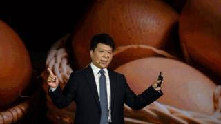 Huawei rotating chairman Guo Ping