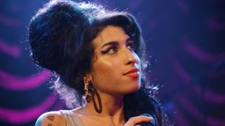 Amy performing
