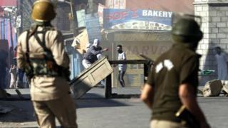 کشمیر مظاہرہ
