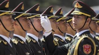 चीन के सैनिक