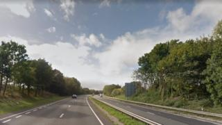 Junction four of A483