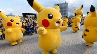 Пикачу - культовый персонаж Pokemon Go в Японии