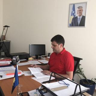 Sadiku u kabinetu, 31. maj 2018.
