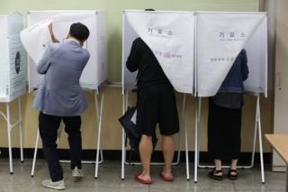 Các cử tri Nam Hàn