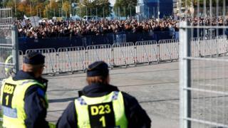 Поліція слідкує за протестом