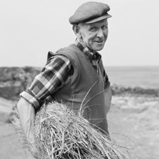 Isle of Man Farmer by Chris Killip