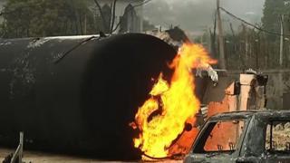 Au Nigeria neuf personnes ont été tuées dimanche dans l'explosion d'un réservoir de gaz dans le Sud-Est du pays.