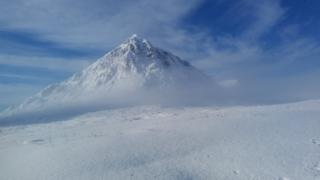 Buachaille Etive Mor - John Stewart from Clydebank says he's seen many picture's of this fabulous mountain but none as pure as this.