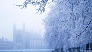 Сніг у Лондоні