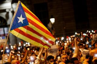 Barcelona gösteriler