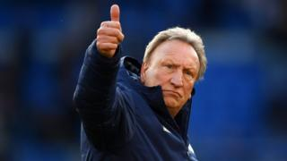 Cardiff City manager Neil Warnock pictured after his side was relegated to the Championship.