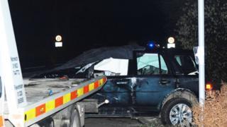 Duke of Edinburgh's crashed vehicle