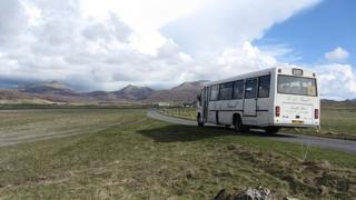 Bus ann an Uibhist