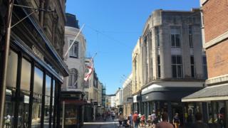 St Helier high Street