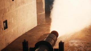 """تجربة صاروخية في مركز """"ويستكوت فينتشر بارك"""" لأبحاث الصواريخ"""