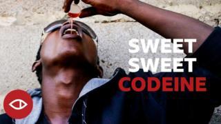 Naija youth wey dey shak codeine.