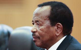 Rais Pual Biya akikutana na rais wa China Xi Jinping