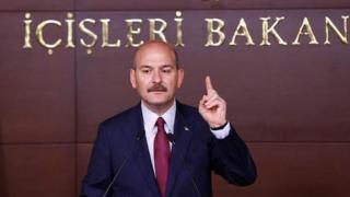 İçişleri Bakanı Süleyman Soylu,