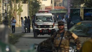 کابل میں سکیورٹی اہلکار