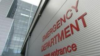 Royal Victoria Hospital emergency department