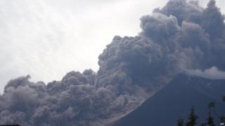 ग्वाटेमाला ज्वालामुखी