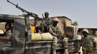 Niger army men