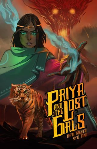 Cover of Priya and The Lost Girls