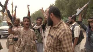 Yemeni pro-government army nearby Hudaydah airfield - 15 June