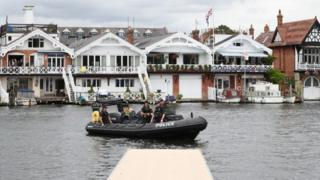 Police at Henley Regatta