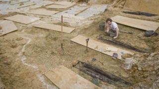 раскопки на территории Университета Миссисипи
