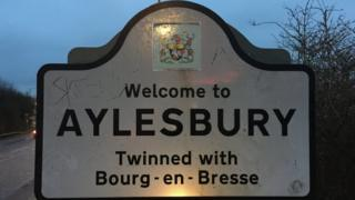 Aylesbury sign