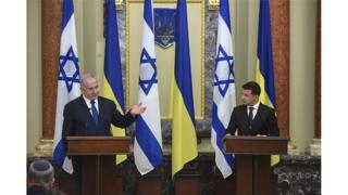 Зеленский и Нетаньяху