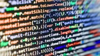 Web page code