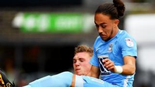 Coventry City winger Jodi Jones missed the rest of the season after suffering the same injury in November 2017