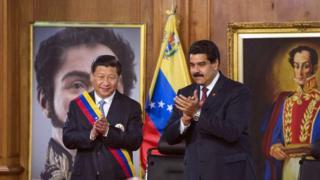 深陷制裁和經濟困境的委內瑞拉總統訪問中國
