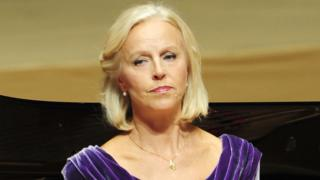 La mezzosprano sueca Anne Sofie von Otter