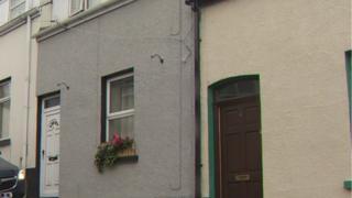 House in Waterside where shooting happened