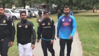 बांग्लादेशी टीम के खिलाड़ी