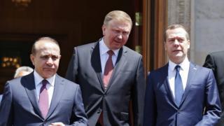 Медведев, Андрей Кобяков, Овик Абрамян