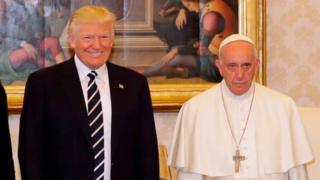 Pope meets Trump