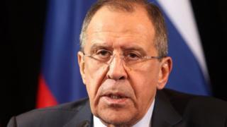 Lavrov avuga kw'igitero cagabwe kuri Siriya ari agasomborotso gateye isoni