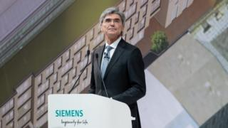 Joe Kaeser, Siemens's chief executive