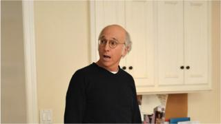 Comedian Larry David in Curb Your Enthusiasm