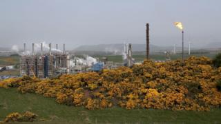 environment Flaring at Mossmorran