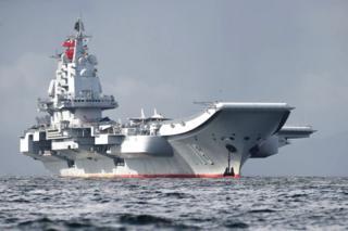 """中国航空母舰""""辽宁号"""""""