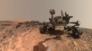 Nasa's Mars rover Curiosity