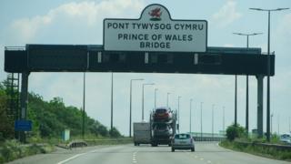 New bridge sign