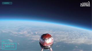 Tunnock's Teacake in space
