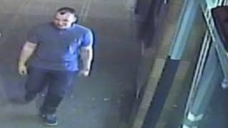 CCTV image over Garage assault